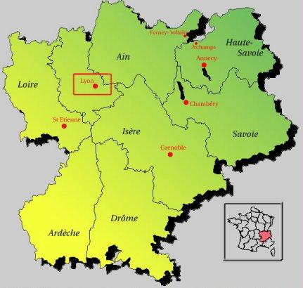 annecy region rhone alpes